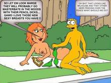 #pic154009: Family Guy – Lois Griffin – Marge Simpson – The Simpsons – crossover