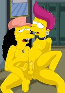 #pic146745: Bad Girl – Otto – The Simpsons
