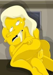 #pic146746: Greta Wolfcastle – Seymour Skinner – The Simpsons