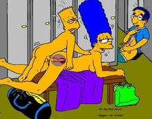 #pic146292: Bart Simpson – Marge Simpson – Milhouse Van Houten – The Simpsons