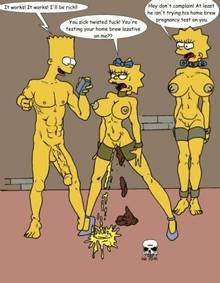 #pic173384: Bart Simpson – Lisa Simpson – Maggie Simpson – The Fear – The Simpsons