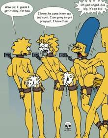 #pic169669: Bart Simpson – Lisa Simpson – Maggie Simpson – Marge Simpson – The Fear – The Simpsons