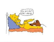 #pic169199: Lisa Simpson – Santa's Little Helper – The Simpsons