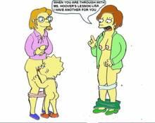 #pic308071: Edna Krabappel – Elizabeth Hoover – Lisa Simpson – The Simpsons – animated