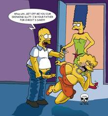 #pic168834: Homer Simpson – Lisa Simpson – Marge Simpson – The Fear – The Simpsons