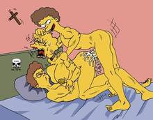 #pic168835: Lisa Simpson – Rod Flanders – The Fear – The Simpsons – Todd Flanders