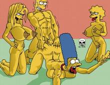 #pic168831: Bart Simpson – Lisa Simpson – Maggie Simpson – Marge Simpson – The Fear – The Simpsons
