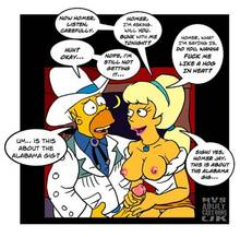 #pic168522: Homer Simpson – Lurleen Lumpkin – The Simpsons – nev