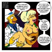 #pic168521: Homer Simpson – Lurleen Lumpkin – The Simpsons – nev