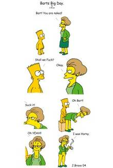 #pic308489: Bart Simpson – Edna Krabappel – J.Bravo – The Simpsons