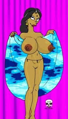 #pic166374: Manjula Nahasapeemapetilon – The Fear – The Simpsons