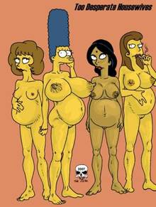 #pic166375: Manjula Nahasapeemapetilon – Marge Simpson – Maude Flanders – Ruth Powers – The Fear – The Simpsons