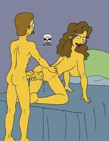 #pic166372: Ned Flanders – Rachel Jordan – The Fear – The Simpsons