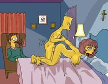 #pic166371: Bart Simpson – Maude Flanders – Ned Flanders – The Fear – The Simpsons
