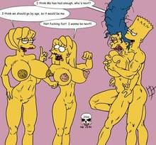 #pic166366: Bart Simpson – Lisa Simpson – Maggie Simpson – Marge Simpson – The Fear – The Simpsons