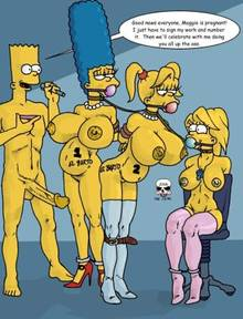 #pic166370: Bart Simpson – Lisa Simpson – Maggie Simpson – Marge Simpson – The Fear – The Simpsons