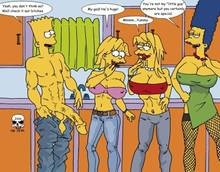 #pic166365: Bart Simpson – Lisa Simpson – Maggie Simpson – Marge Simpson – The Fear – The Simpsons