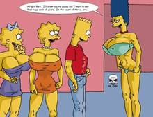 #pic166367: Bart Simpson – Lisa Simpson – Maggie Simpson – Marge Simpson – The Fear – The Simpsons