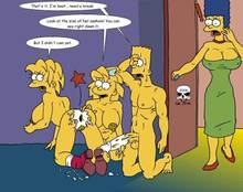 #pic166364: Bart Simpson – Lisa Simpson – Maggie Simpson – Marge Simpson – The Fear – The Simpsons