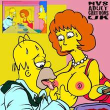 #pic164451: Homer Simpson – Marge Simpson – Maude Flanders – The Simpsons – nev