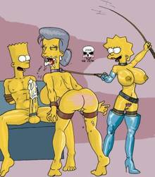 #pic164465: Bart Simpson – Lisa Simpson – Madame Belle – The Fear – The Simpsons