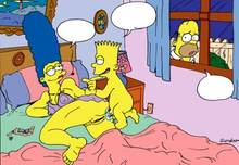 #pic164435: Bart Simpson – Homer Simpson – Marge Simpson – The Simpsons
