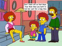 #pic306008: Maude Flanders – Ned Flanders – Rod Flanders – The Simpsons – Todd Flanders – animated