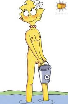 #pic135417: Lisa Simpson – Orange Box – The Simpsons