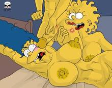 #pic134846: Bart Simpson – Lisa Simpson – Marge Simpson – The Fear – The Simpsons