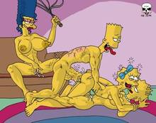 #pic134843: Bart Simpson – Lisa Simpson – Maggie Simpson – Marge Simpson – The Fear – The Simpsons
