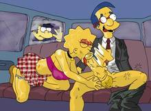 #pic134839: Chief Wiggum – Lisa Simpson – Milhouse Van Houten – The Fear – The Simpsons