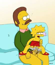 #pic305865: AMH – Lisa Simpson – Ned Flanders – The Simpsons