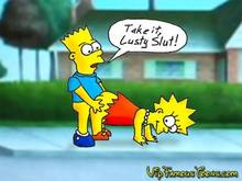 #pic855950: Bart Simpson – Lisa Simpson – The Simpsons