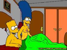 #pic855915: Bart Simpson – Marge Simpson – The Simpsons