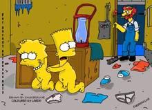 #pic805740: Bart Simpson – Groundskeeper Willie – Lisa Simpson – Saviorsavor – The Simpsons – lardo