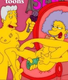 #pic803322: Kent Brockman – Modern Toons – Selma Bouvier – The Simpsons