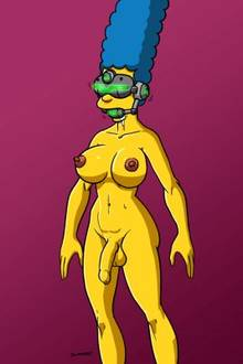 #pic801005: Doomington – Marge Simpson – The Simpsons