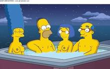 #pic801489: HomerJySimpson – Homer Simpson – Kirk Van Houten – Luann Van Houten – Marge Simpson – The Simpsons – WVS – animated