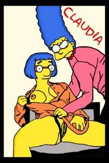 #pic373215: Claudia-R – Luann Van Houten – Marge Simpson – The Simpsons