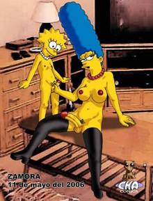 #pic133624: Lisa Simpson – Marge Simpson – The Simpsons