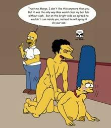 #pic133044: Homer Simpson – Marge Simpson – Moe Szyslak – The Fear – The Simpsons
