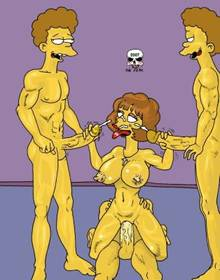 #pic133036: Maude Flanders – Ned Flanders – Rod Flanders – The Fear – The Simpsons – Todd Flanders