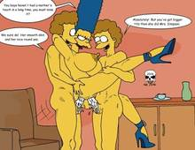 #pic133030: Marge Simpson – Rod Flanders – The Fear – The Simpsons – Todd Flanders