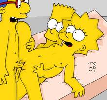 #pic133024: Bart Simpson – Lisa Simpson – Milhouse Van Houten – The Simpsons – Tommy Simms
