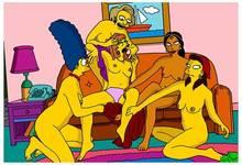 #pic1021485: Claudia – Edna Krabappel – Manjula Nahasapeemapetilon – Marge Simpson – Maude Flanders – Ruth Powers – The Simpsons