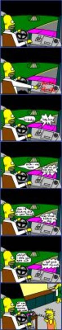 #pic1016692: Homer Simpson – Lisa Simpson – Marge Simpson – The Simpsons