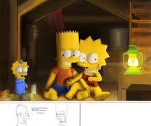#pic1015227: Ahbihamo – Bart Simpson – Lisa Simpson – Maggie Simpson – The Simpsons