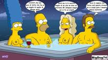 #pic1005341: Homer Simpson – Marge Simpson – Ned Flanders – The Simpsons – sara sloane