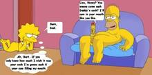 #pic845642: Homer Simpson – Lisa Simpson – The Simpsons