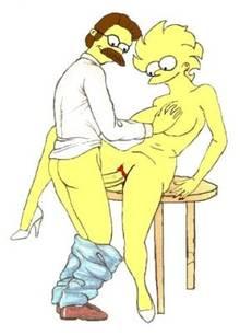 #pic842212: Lisa Simpson – Ned Flanders – The Simpsons